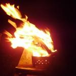 אש במנגל מיקום : יער דימונה